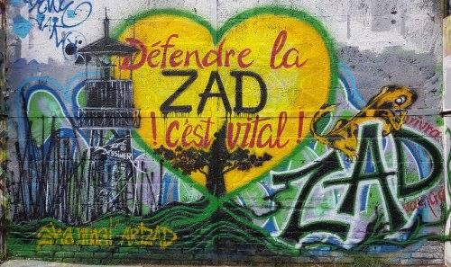 Défendre la ZAD